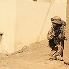 patrol in sangin by Phillip French