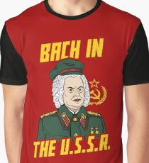 Bach In The USSR Graphic T-Shirt