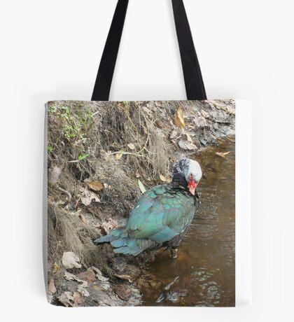Muscovy Hen, Preening Tote Bag