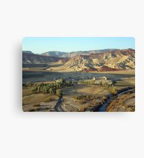In early morning (Afghanistan) Canvas Print