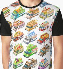 Food Truck Take away Graphic T-Shirt