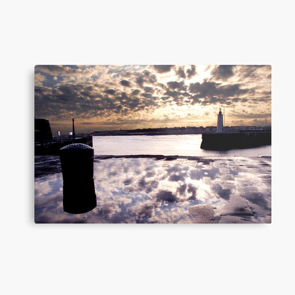Anstruther Harbour Metal Print