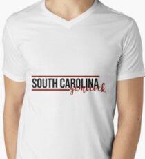 University of South Carolina Men's V-Neck T-Shirt