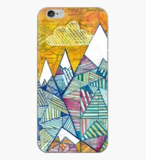 Maps and Mountains iPhone Case