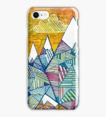 Maps and Mountains iPhone Case/Skin
