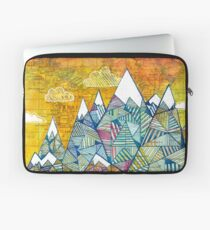 Maps and Mountains Laptop Sleeve