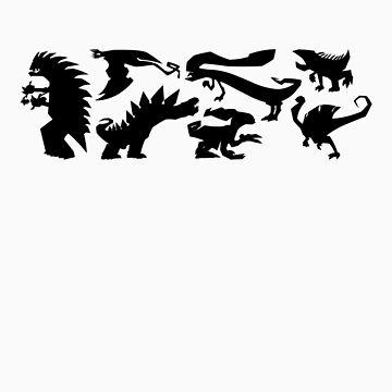 My dinos by fmz101