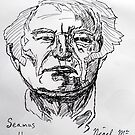 Seamus Heaney by Nigel Mc Clements