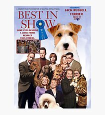 Jack Russell Terrier Art Canvas Print - Best in Show Movie Poster  Photographic Print