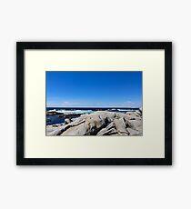 Nova Scotia Ocean Beach Framed Print