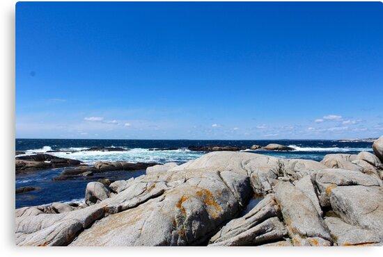 Nova Scotia Ocean Beach by MissIronMax