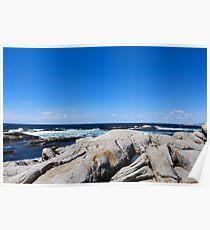 Nova Scotia Ocean Beach Poster