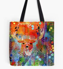 Deer in the Thicket Tote Bag