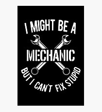 Mechanic Photographic Print