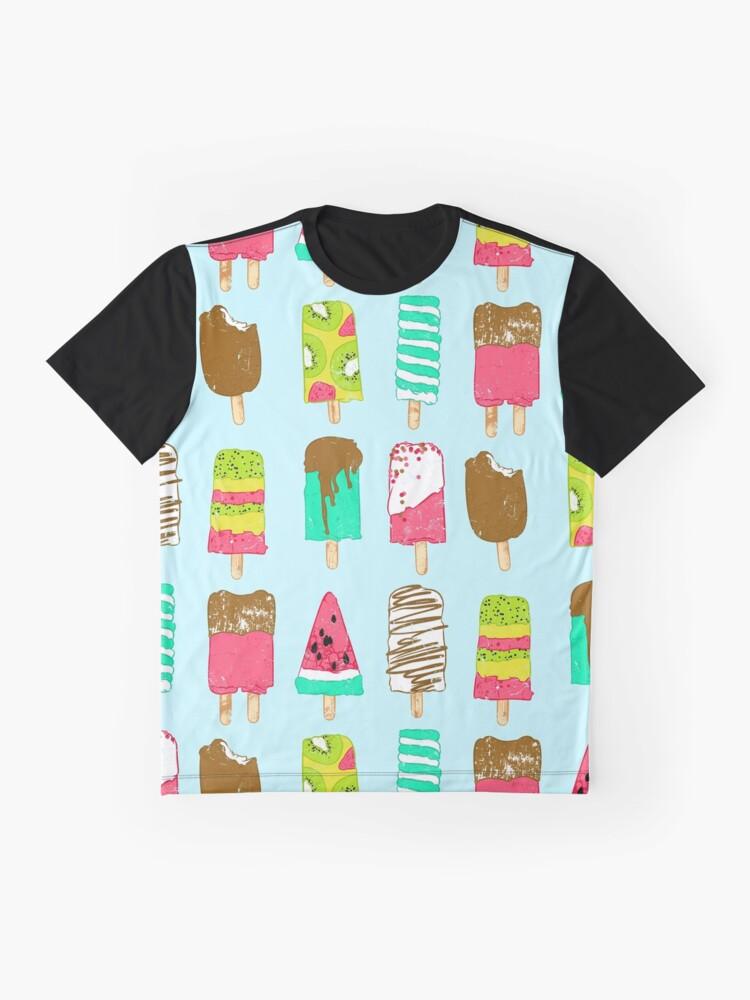 Vista alternativa de Camiseta gráfica Tiempo de helado