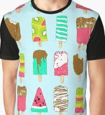 Ice Cream Time Graphic T-Shirt