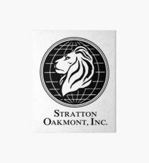 Stratton Oakmont Inc Art Board