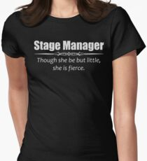 Stage Manager Gifts Womens Fitted T-Shirt