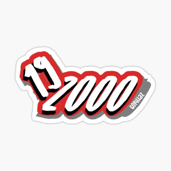 Gorillaz - 19-2000 Sticker