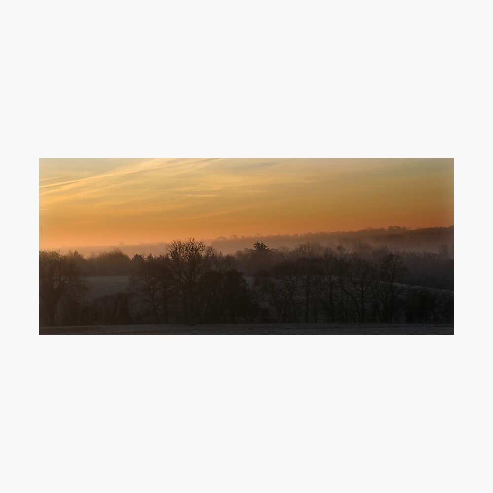 Valley Dawn Photographic Print