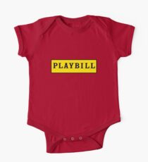 Playbill  One Piece - Short Sleeve