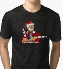 The Outlaw Santa Claus Tri-blend T-Shirt