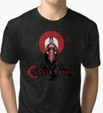 Castlevania - Trevor Belmont - Hunter of Vampires Tri-blend T-Shirt