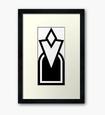 Quest Marker Framed Print