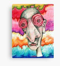 Grateful Insomniac Canvas Print