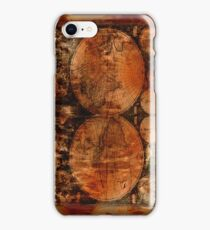 Grunge Vintage Old World Map iPhone Case/Skin