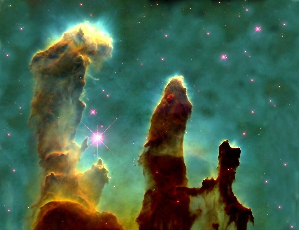 Eagle Nebula by luckylucy
