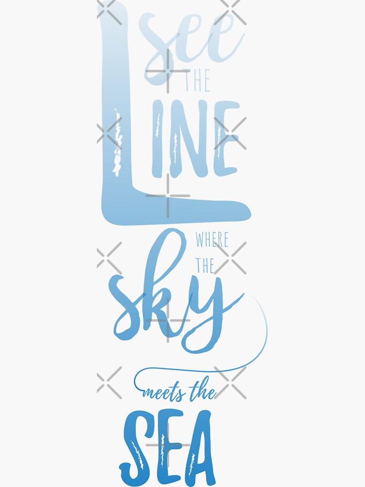 Sky & Sea Blue by darrianrebecca