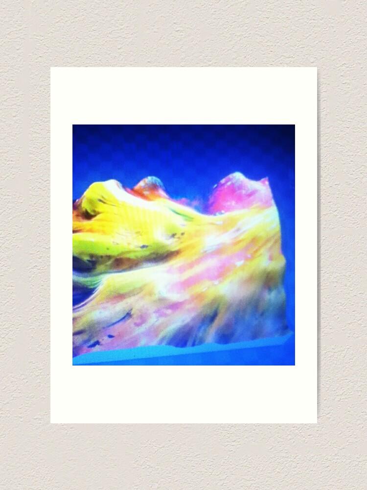 Alternate view of Floating! Art Print