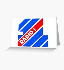 Radio 1 - 1975 Greeting Card