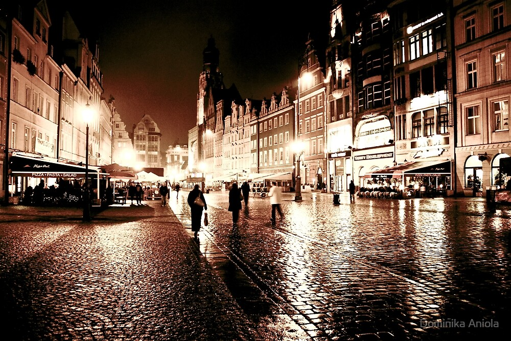 Wroclaw by night 3 by Dominika Aniola