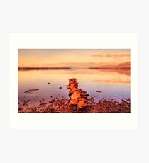Loch Lomond Sunrise Art Print