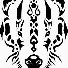 Tribal Badger by DANIEL BEVIS