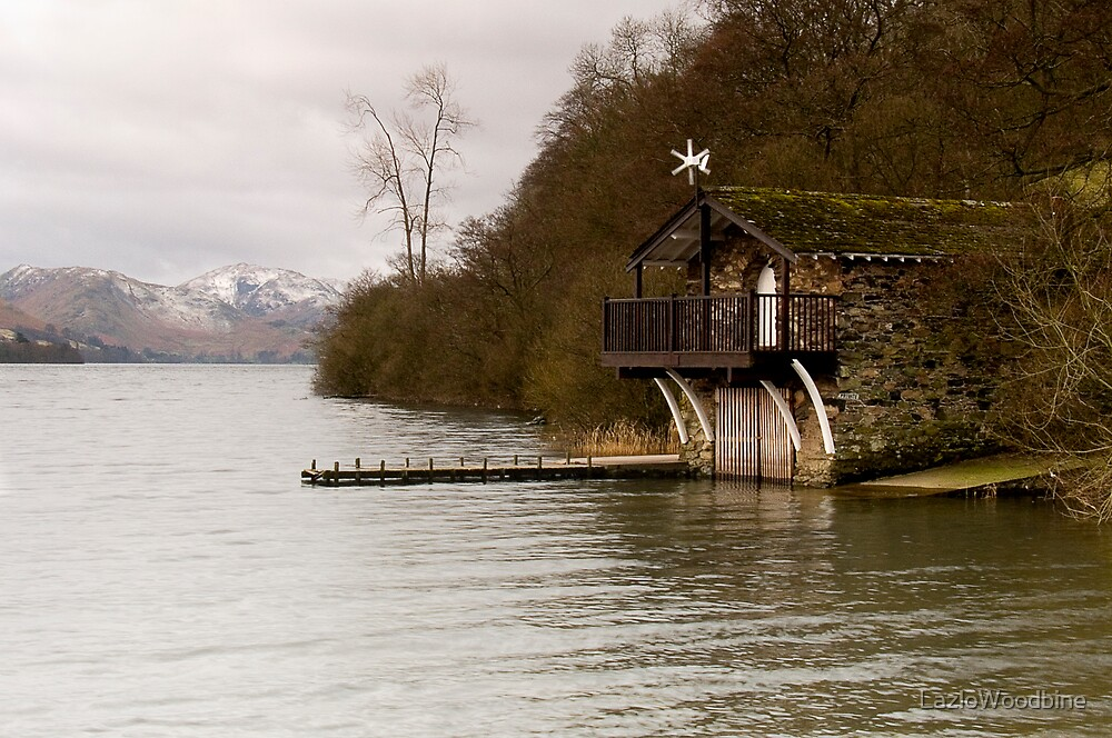 Ullswater Boathouse - The Lake District by LazloWoodbine