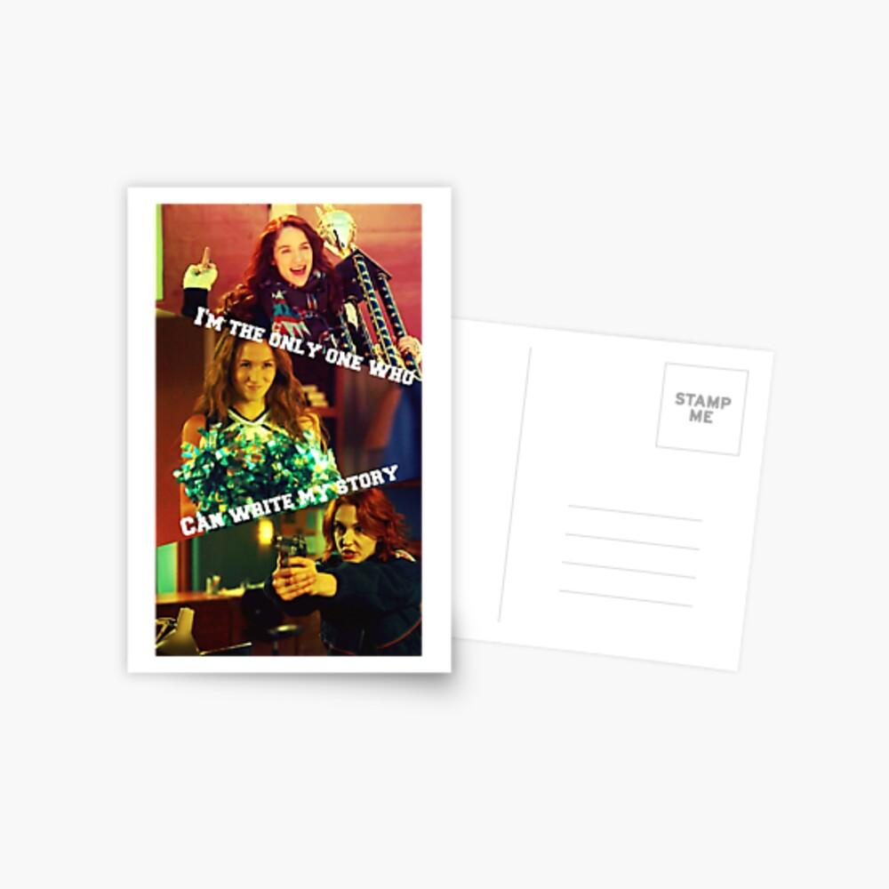 Wynonna Earp- schreibe meine Geschichte Postkarte