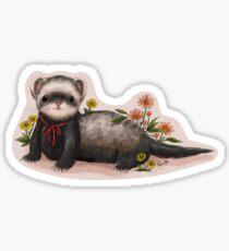 Little Ferret Sticker