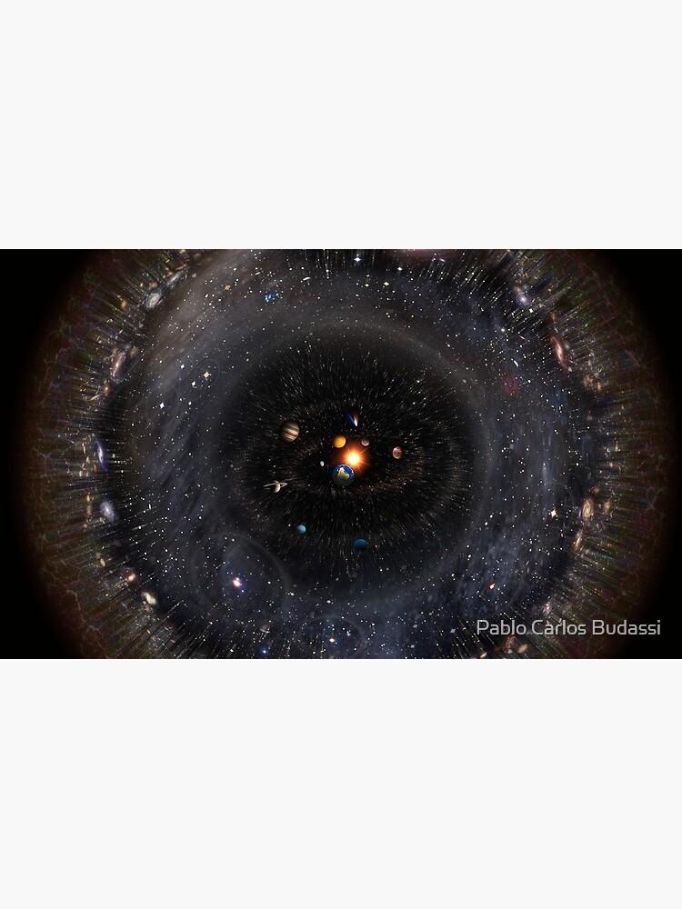 Beobachtbares Universum größeres SSystem! (schwarzer Hintergrund) von pablocbudassi