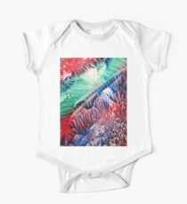 Green Red Abstract Kids Clothes