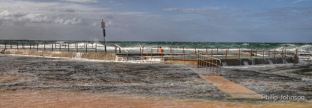 Tidal Pool - Sydney Beaches - The HDR Series - Mona Vale Beach Pool, Sydney Australia by Philip Johnson