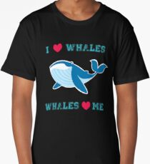 I love whales,whales loves me Long T-Shirt