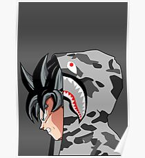Goku Bape  Poster