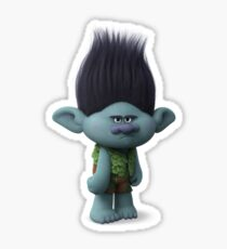trolls branch Sticker