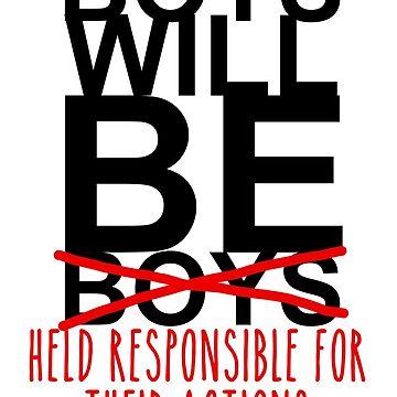 los niños serán responsables de sus acciones de fahimahsarebel