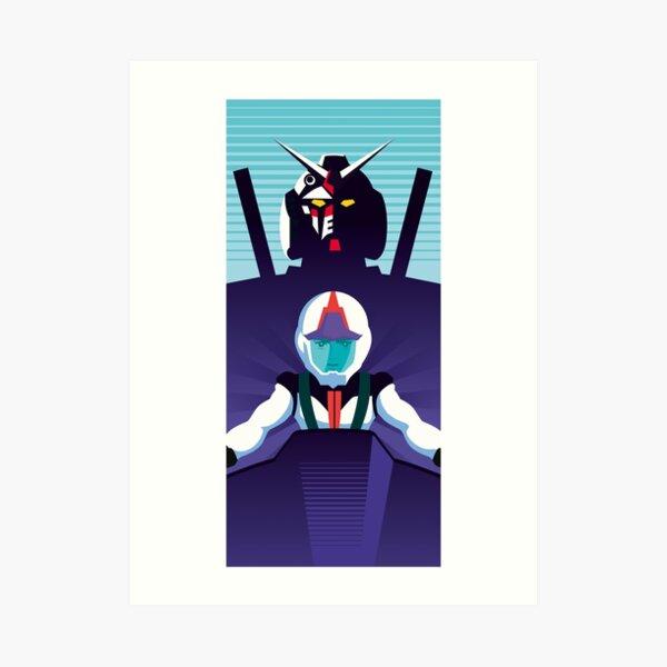 Gundam / Amuro - Graphic Art Print