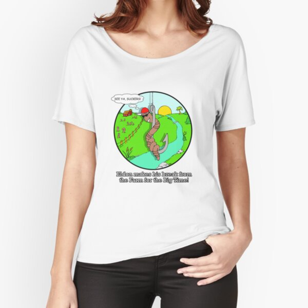 WORM FARM ESCAPEE!! Relaxed Fit T-Shirt