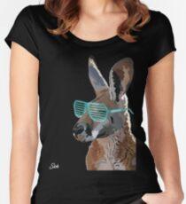 Sickest Kangaroo Women's Fitted Scoop T-Shirt